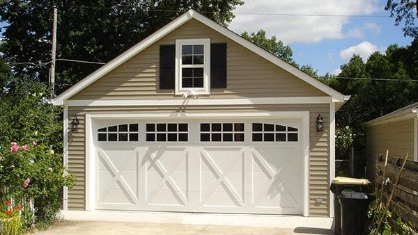 garage building