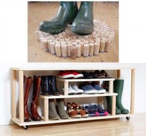 Wet Shoe rack
