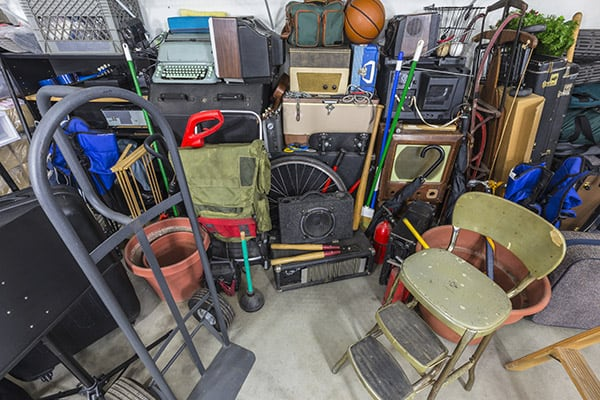 garage cleaning problems