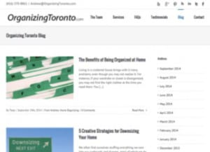 Organizing Toronto Blog