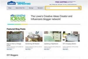 Lowe's Creative Ideas